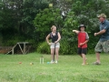 Croquet on the lawns at Pukenui Holiday Park