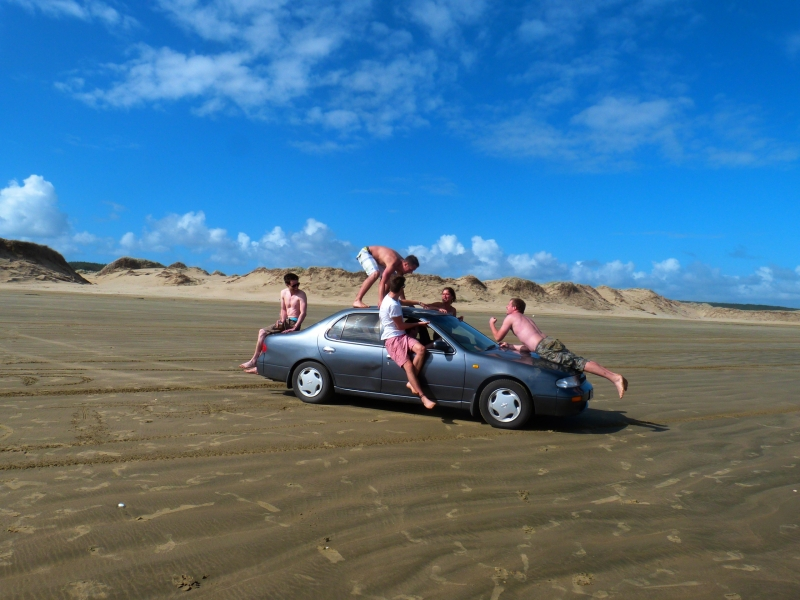 fun on 90 Mile Beach, 15 minutes from Pukenui Holiday Park