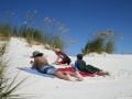 white sands of Rarawa Beach, 20 minutes from Pukenui Holiday Park
