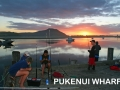 Morning fish at Pukenui Wahrf, a short walk from Pukenui Holiday Park