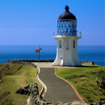 The light house, Cape Reinga 50 mins drive from Pukenui Holiday Park