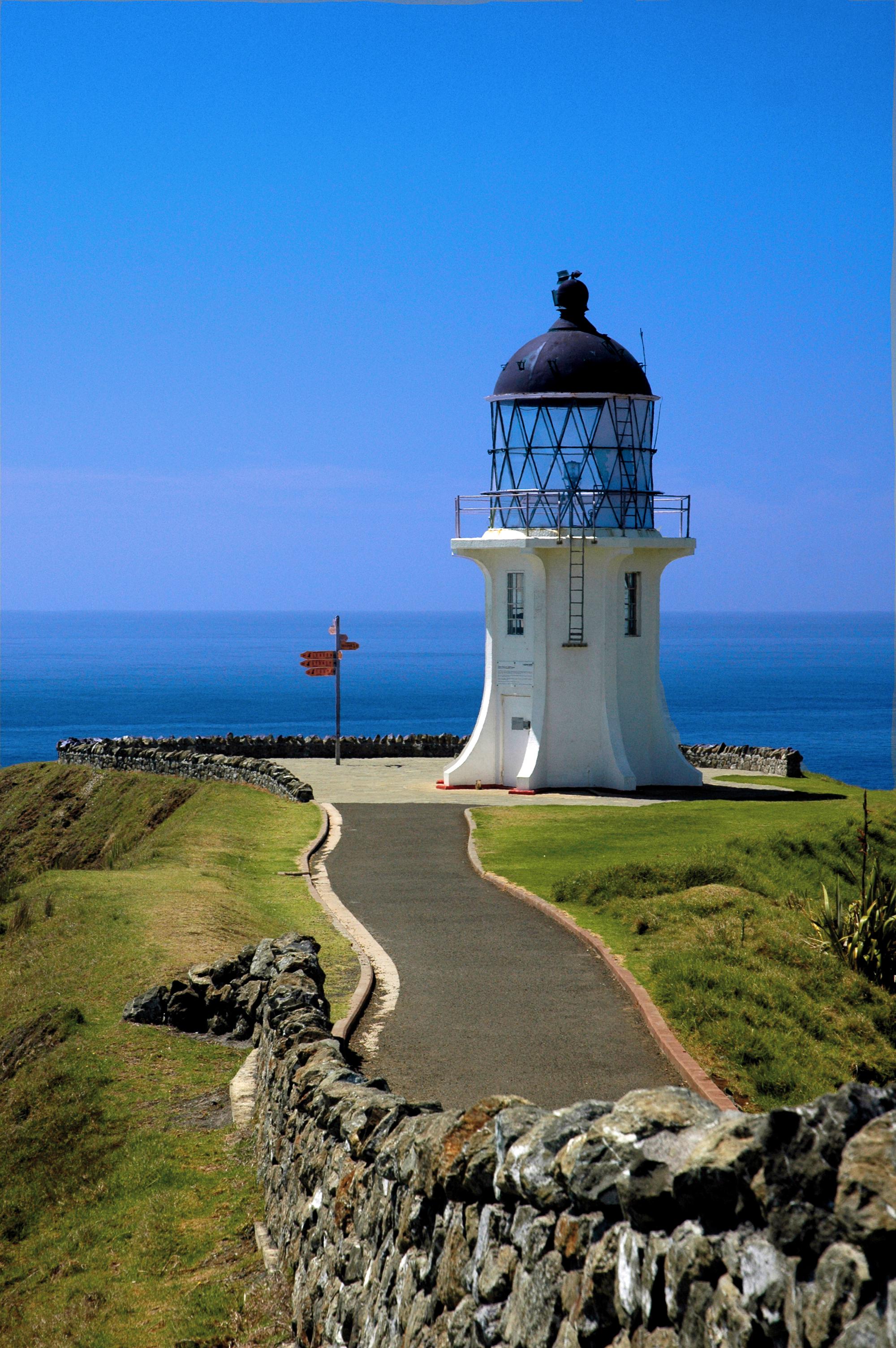 The Cape Reinga Lighthouse
