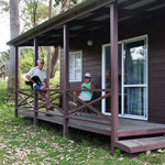 Tourist Flat, ensuite cabin Pukenui Holiday Park
